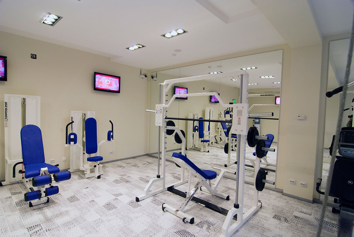 Aquarius Boutique-Hotel - Sala de fitness